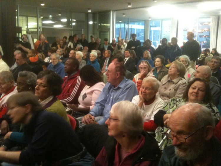 Full House at the Council
