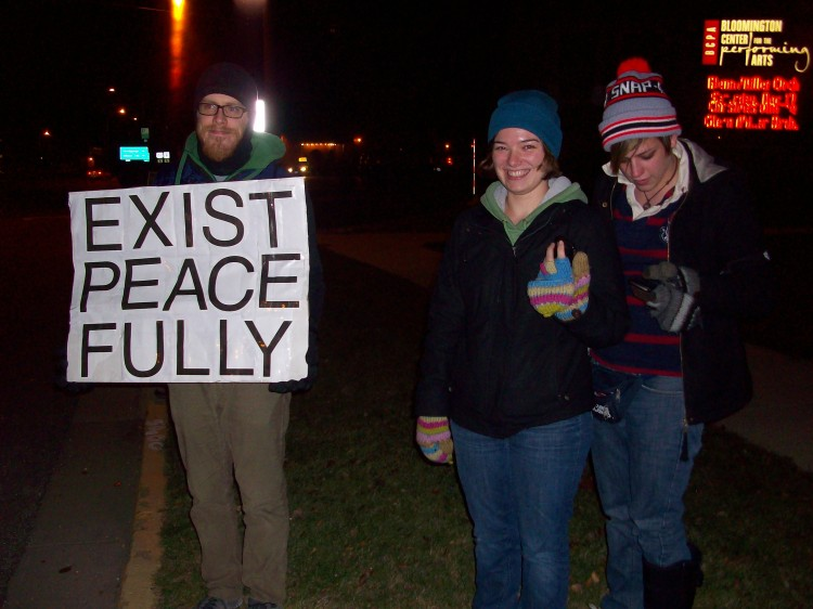 End the wars - Cut military spending! 12.01.11