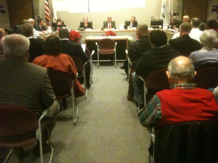 Ilinois People's Action at Normal Town Council 12.19.11