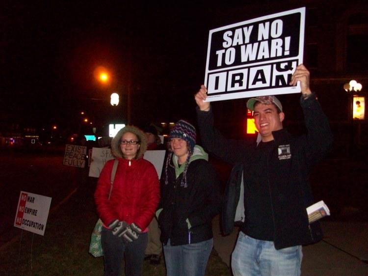 Say No to War on Iran!