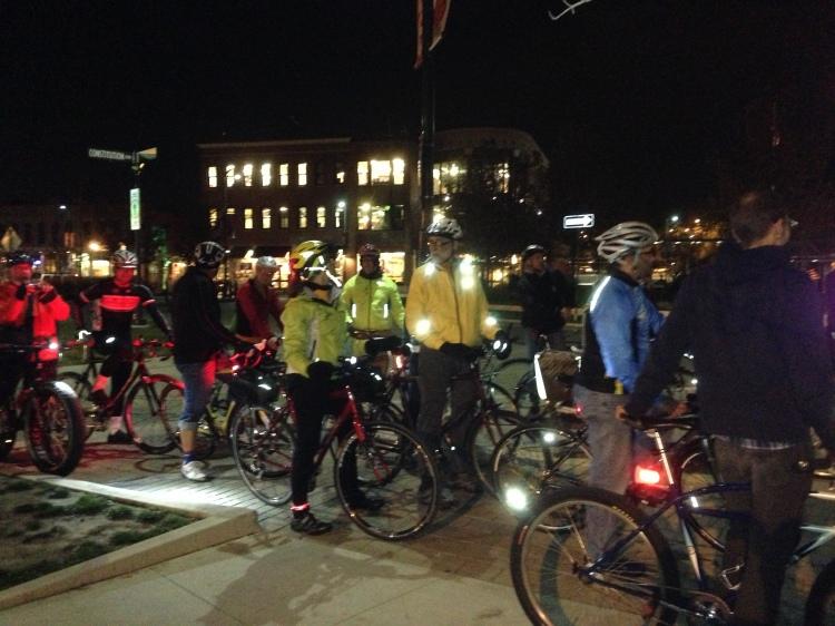 Bike BloNo Nite Ride 11.01.12