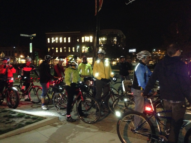 Bike BloNo Nite Ride 11.01.12