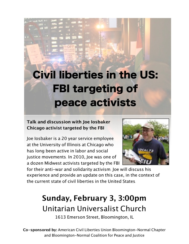 Civil Liberties in the U.S. flyer