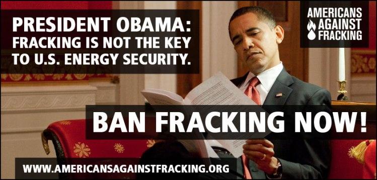 Ban Fracking Now!