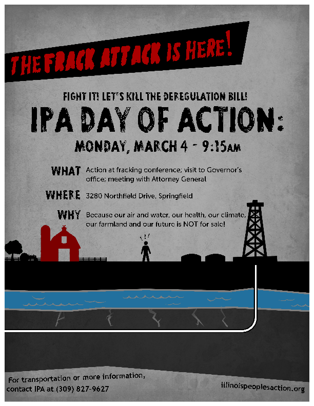 Fight the Frack Attack! March 4th