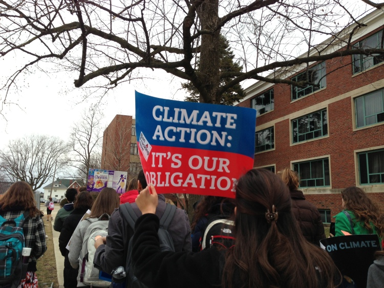 Climate Change March, IWU, 2.18.13