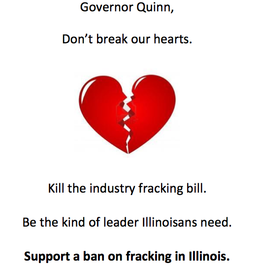 Quinn Anti-fracking Valentine