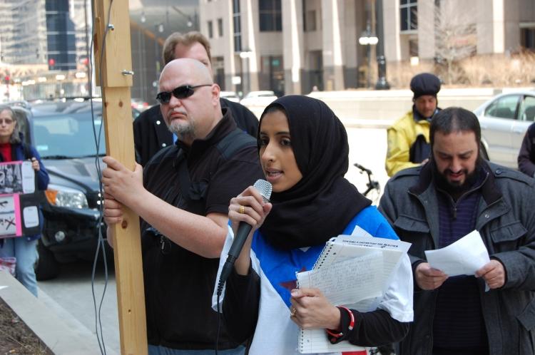 Nahla Yafai, a Yemeni student activist