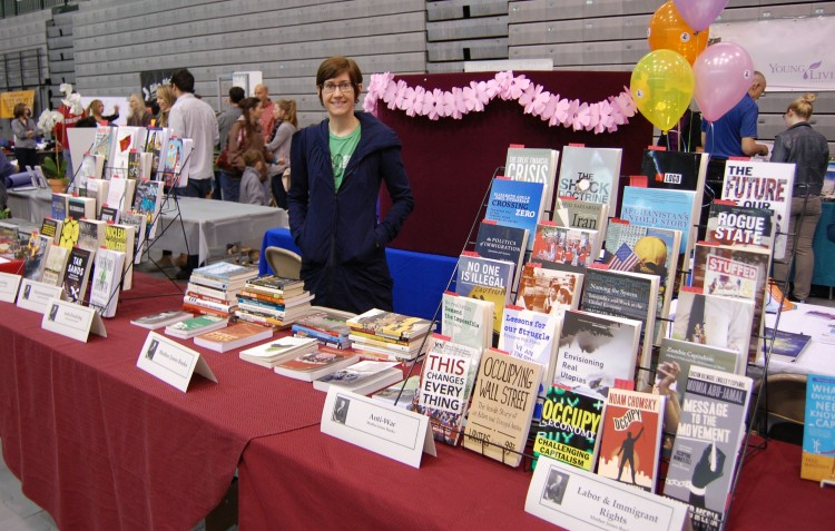 Mother Jones Books at the Expo 2013