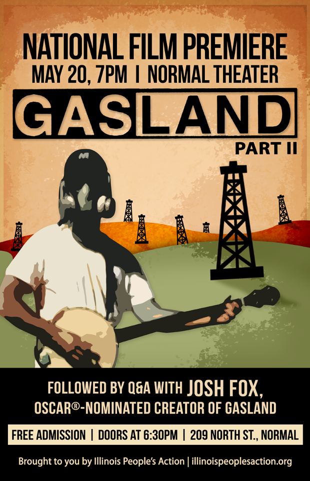 Gasland Part II Flyer by Zachary Kirkton