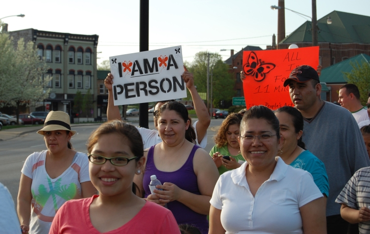 IPA Rally and March for Immigration Reform 5.1.13